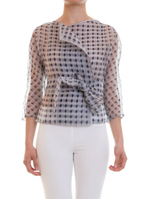 Armani Collezioni: Tailored & Dinner online - Organdy silk elegant jacket