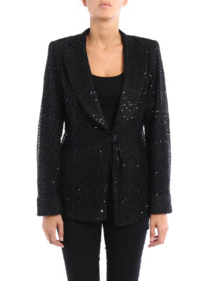 Armani Collezioni: Tailored & Dinner online - Sequined lace sheer jacket