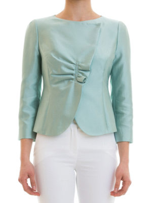 Armani Collezioni: Tailored & Dinner online - Silk blend jacket