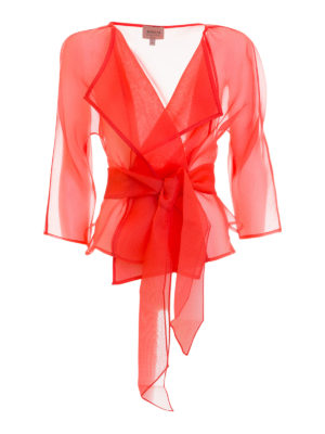 Armani Collezioni: Tailored & Dinner - Organdy silk elegant jacket