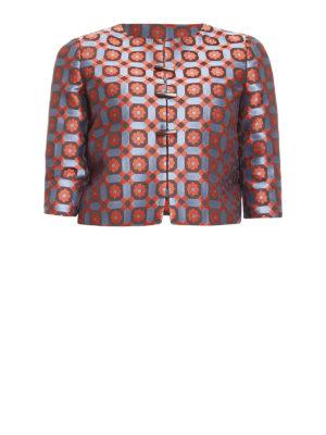Armani Collezioni: Tailored & Dinner - Patterned jacquard crop jacket