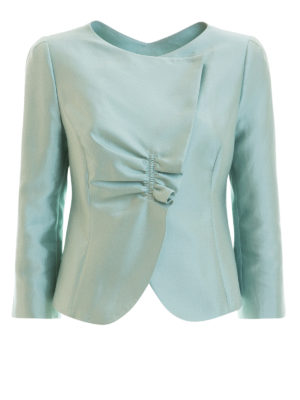 Armani Collezioni: Tailored & Dinner - Silk blend jacket