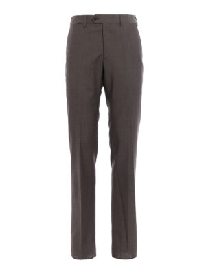 Armani Collezioni: Tailored & Formal trousers - Cool wool classic trousers