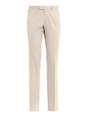 Armani Collezioni: Tailored & Formal trousers - Micro patterned formal trousers