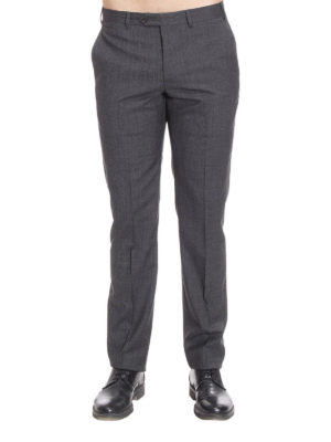 Armani Collezioni: Tailored & Formal trousers online - Formal lightwool trousers