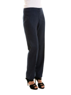 Armani Collezioni: Tailored & Formal trousers online - Wool and cashmere manly trousers