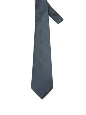 Armani Collezioni: ties & bow ties - Diamond patterned silk tie