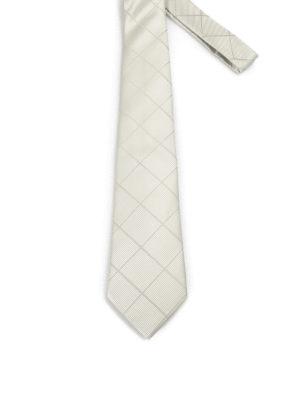 Armani Collezioni: ties & bow ties - Diamond patterned silk tie