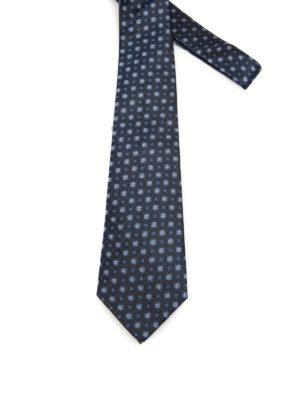 Armani Collezioni: ties & bow ties - Jacquard silk tie.