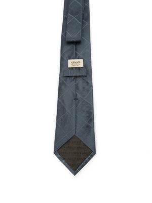 Armani Collezioni: ties & bow ties online - Diamond patterned silk tie