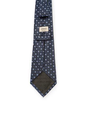Armani Collezioni: ties & bow ties online - Jacquard silk tie.