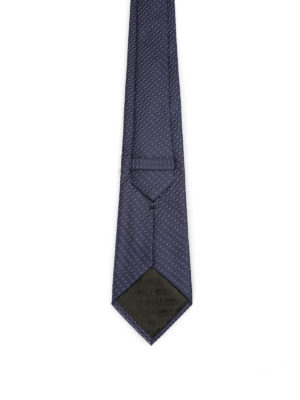 Armani Collezioni: ties & bow ties online - Optical geometric pattern silk tie