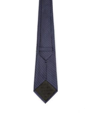 Armani Collezioni: ties & bow ties online - Optical geometric pattern silk tie