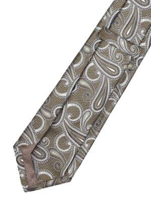 Armani Collezioni: ties & bow ties online - Paisley jacquard silk tie