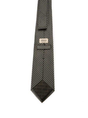 Armani Collezioni: ties & bow ties online - Printed silk tie