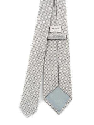 Armani Collezioni: ties & bow ties online - Silk jacquard tie