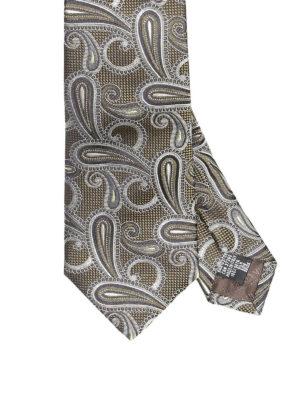 Armani Collezioni: ties & bow ties - Paisley jacquard silk tie