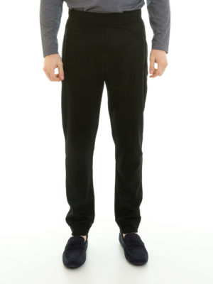 Armani Collezioni: tracksuit bottoms online - Zipped pockets tracksuit bottoms