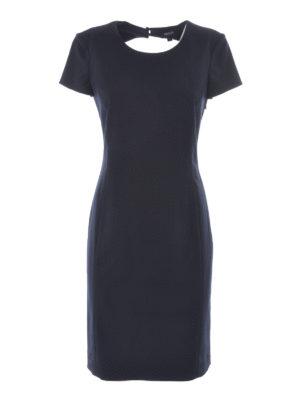 Armani Jeans: knee length dresses - Cotton blend sheath dress