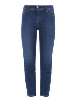Armani Jeans: skinny jeans - Cropped jeans