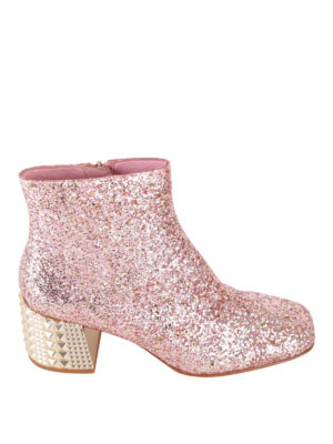 Ash: ankle boots - Electra glitter leather booties