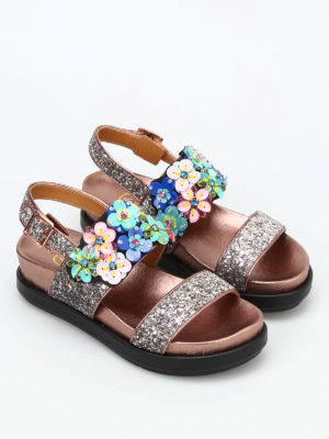 Ash: sandals online - Sharon glitter sandals