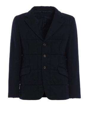 Aspesi: blazers - Bob wool quilted sporty blazer