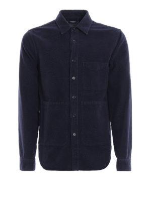 ASPESI: giacche casual - Giacca in fustagno di cotone tinta in capo