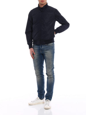 Aspesi: casual jackets online - Swing blue technical fabric jacket