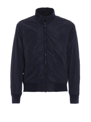 Aspesi: casual jackets - Swing blue technical fabric jacket