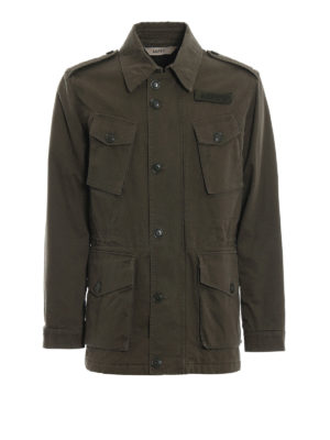 ASPESI: giacche casual - Caban Vancouver Winter verdone