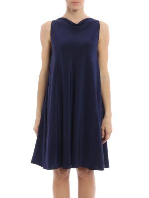 Aspesi: cocktail dresses online - Sleeveless flared silk dress
