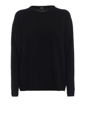 ASPESI: maglia collo rotondo - Girocollo in lana e angora