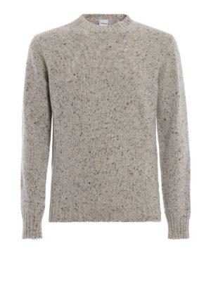 ASPESI: maglia collo rotondo - Maglione in pura lana mélange