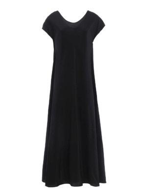 Aspesi: evening dresses - Minimalist long silk gown