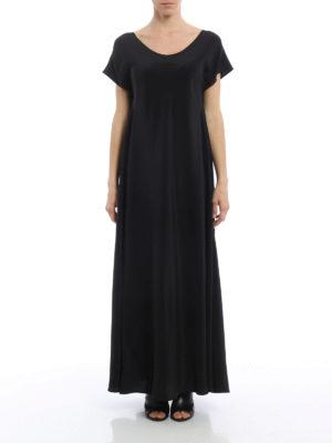 Aspesi: evening dresses online - Minimalist long silk gown