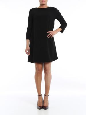 Aspesi: knee length dresses online - Long sleeved dress