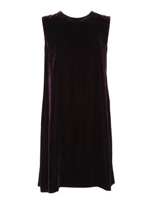 Aspesi: knee length dresses - Velvet dress