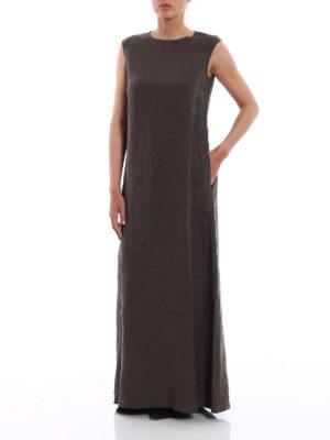 Aspesi: maxi dresses online - Pure linen maxi dress