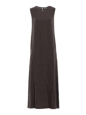 Aspesi: maxi dresses - Pure linen maxi dress