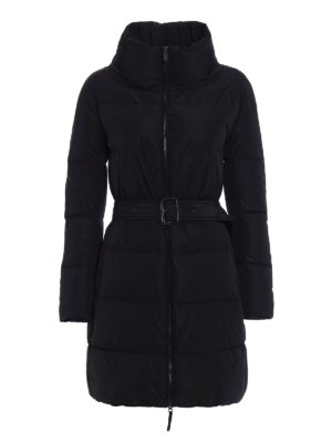 Aspesi: padded coats - Ibis black puffer coat