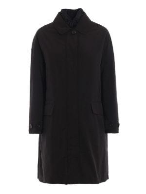 ASPESI: cappotti imbottiti - Trench Rabarbaro in tecno gabardina