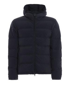 ASPESI: giacche imbottite - Piumino Elastico in nylon opaco blu