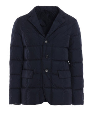 Aspesi: padded jackets - New Bob Dry nylon taffeta blazer