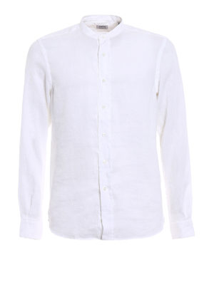 ASPESI: shirts - Bruce white summer shirt
