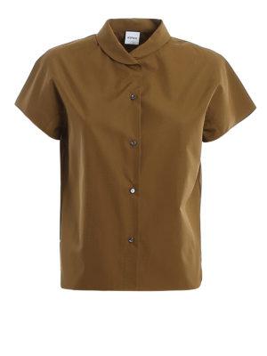 ASPESI: shirts - Cotton poplin shirt