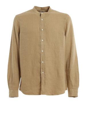 ASPESI: shirts - Pure linen shirt