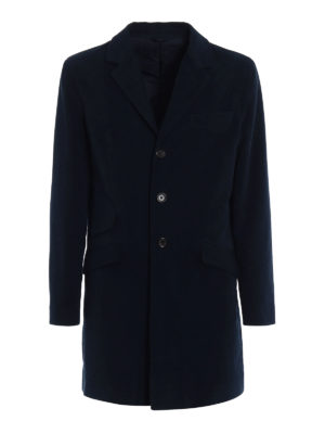 Aspesi: short coats - New Spitzone velvet coat