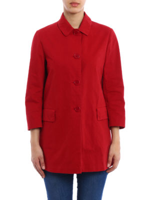 Aspesi: short coats online - Lightweight cotton short coat