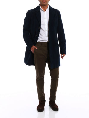 Aspesi: short coats online - New Spitzone velvet coat
